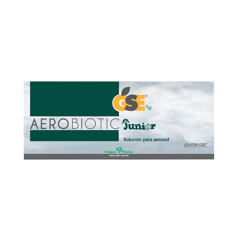 GSE AEROBIOTIC JUNIOR 10 AMPOLLAS SOLUCION PARA NEBULIZADOR