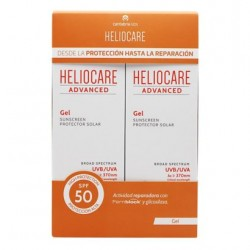 HELIOCARE ADVANCED GEL SPF 50 DUPLO 200 ML